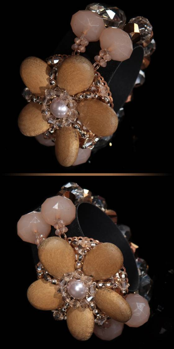 Trendy bracelet with pearls