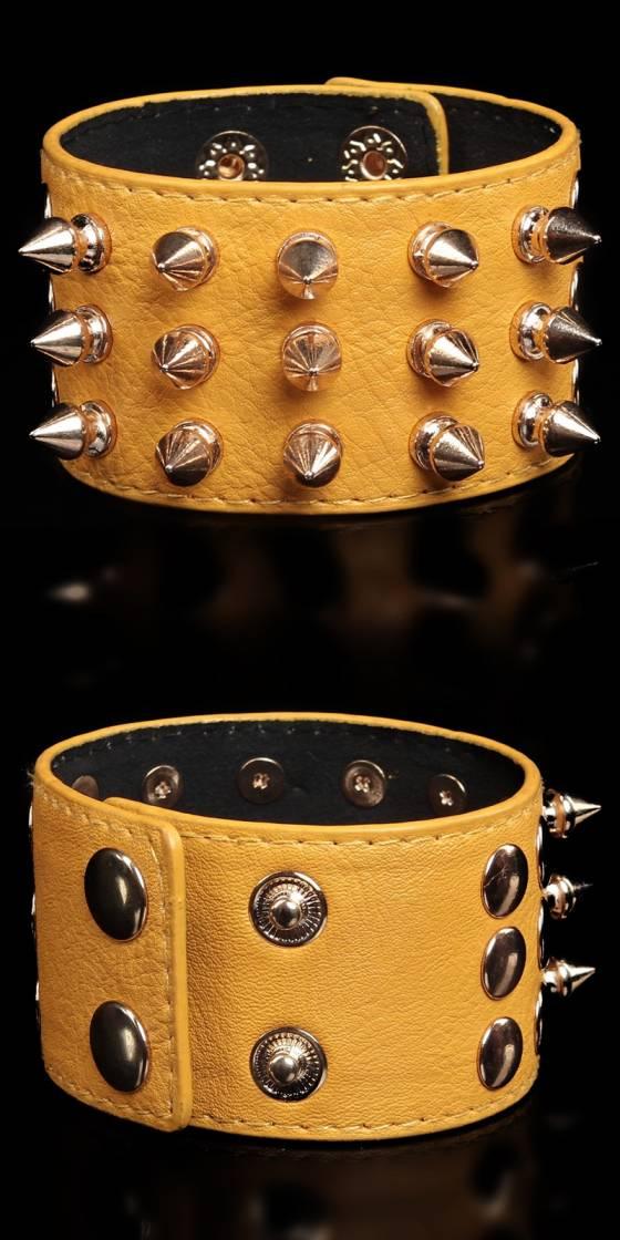 Bracelet sexy avec rivets