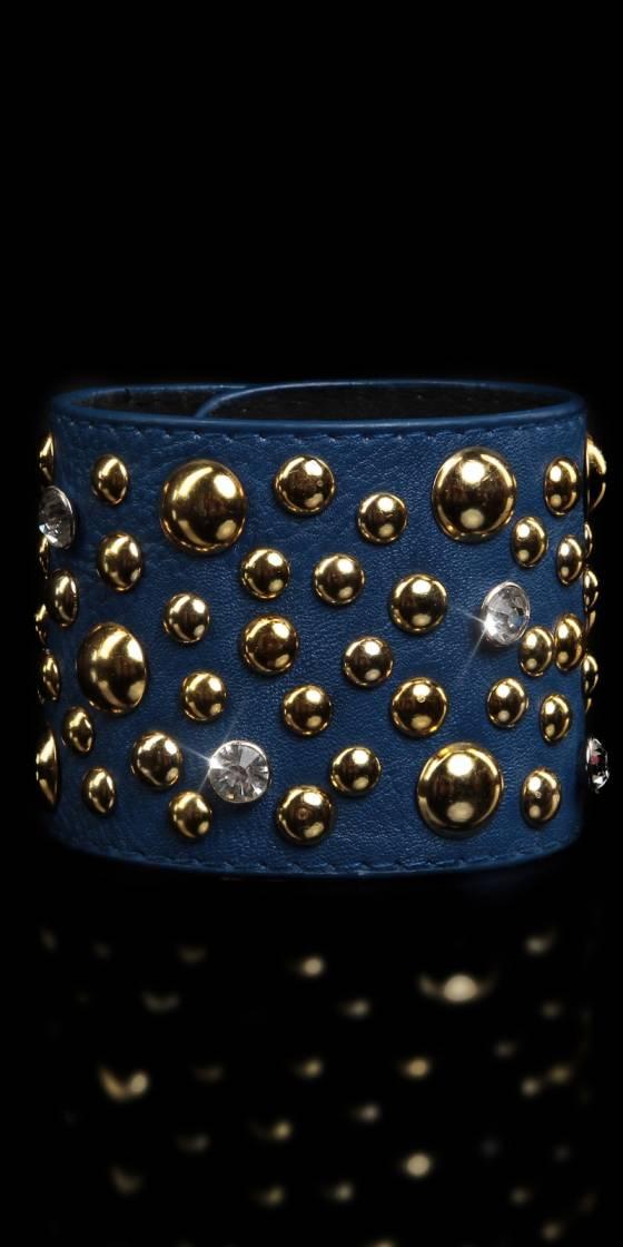 Bracelet sexy avec clous et...
