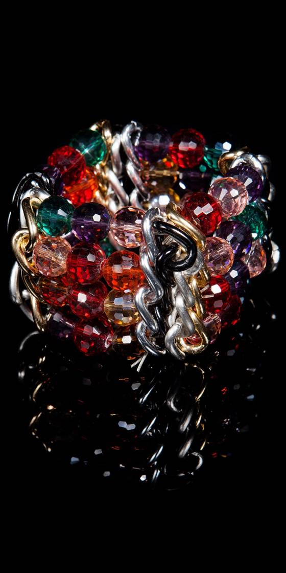 Bracelet glamour avec...