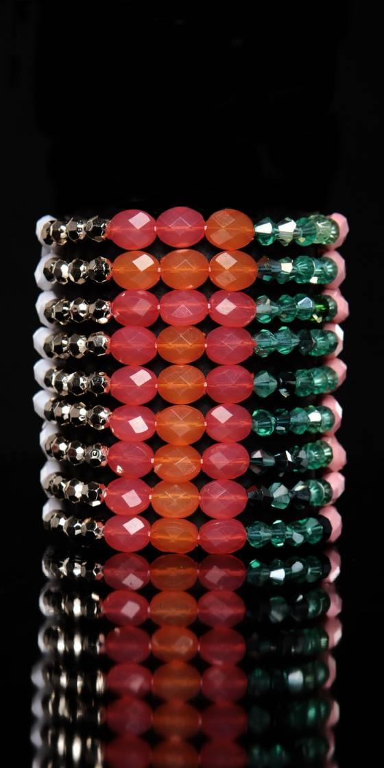 Bracelet tendance à perles
