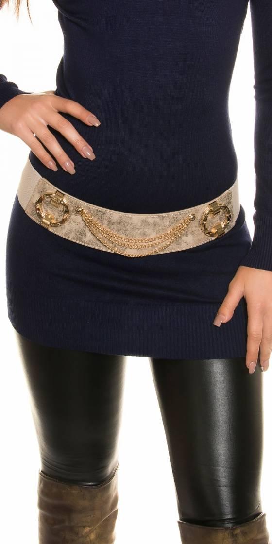Sexy waist belt with chains