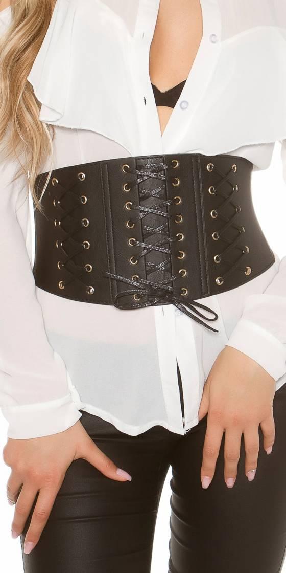 Trendy waist belt bodice...