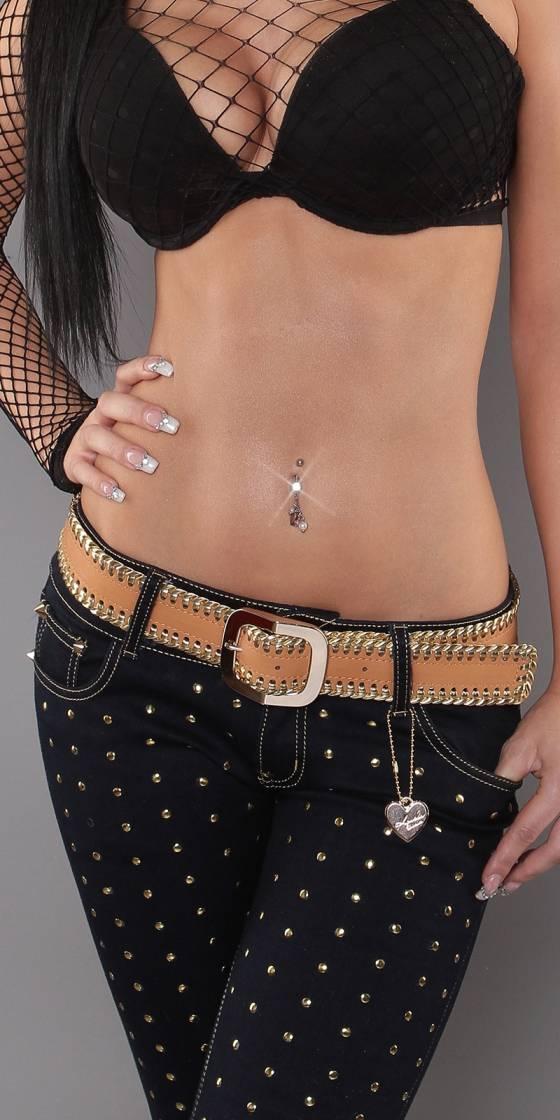 Sexy Bi-Colour Belt