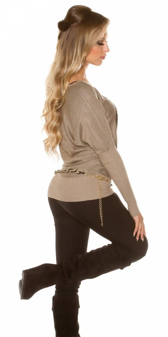 Pantalon tendance KIMBERLEY couleur blanc