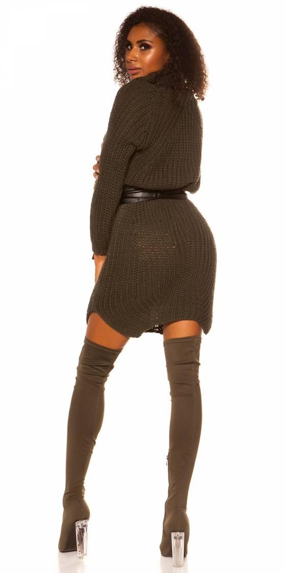 Pantalon sarouel fashion tendance ELLY couleur léopard/gris