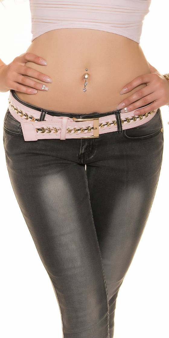 Sexy hip belt with chain...