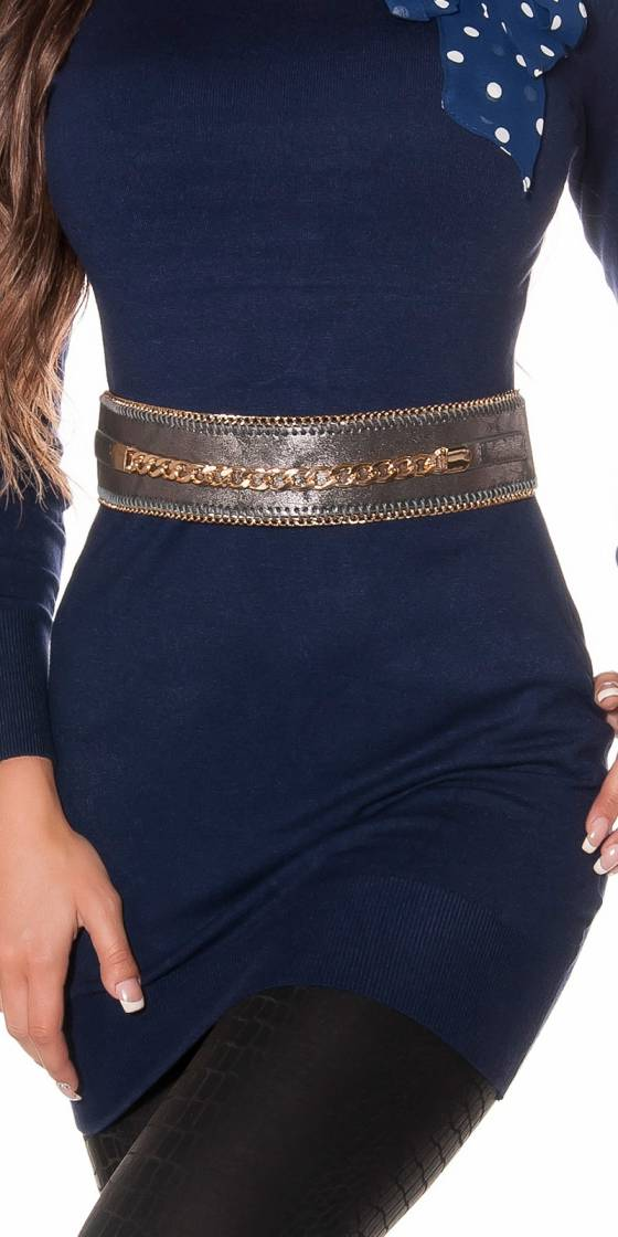 Trendy waistbelt with chain