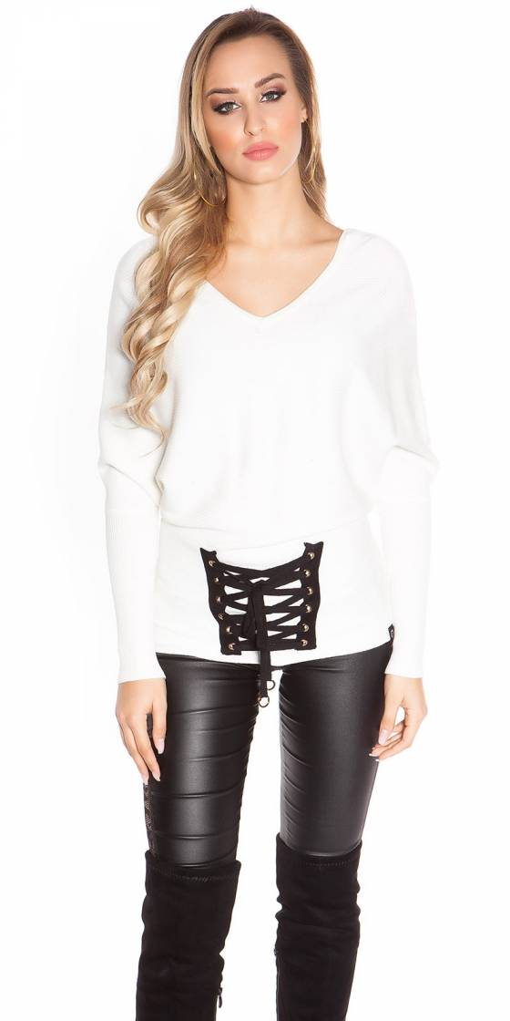 Trendy KouCla bat sweater...