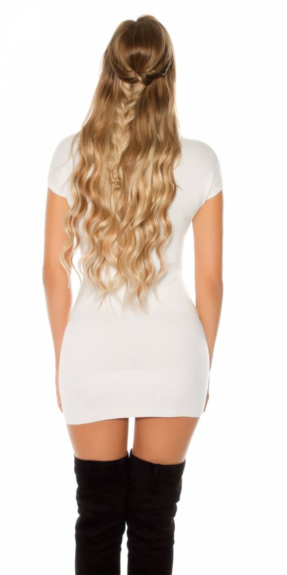 Robe Pull sexy avec boutons