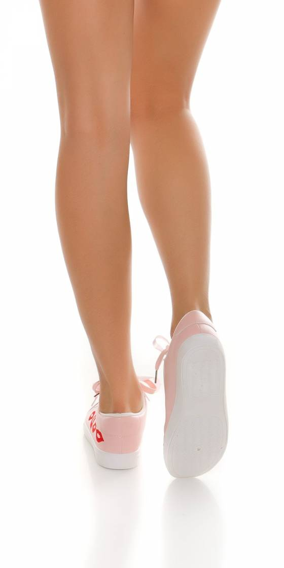 Trendy sneakers with...
