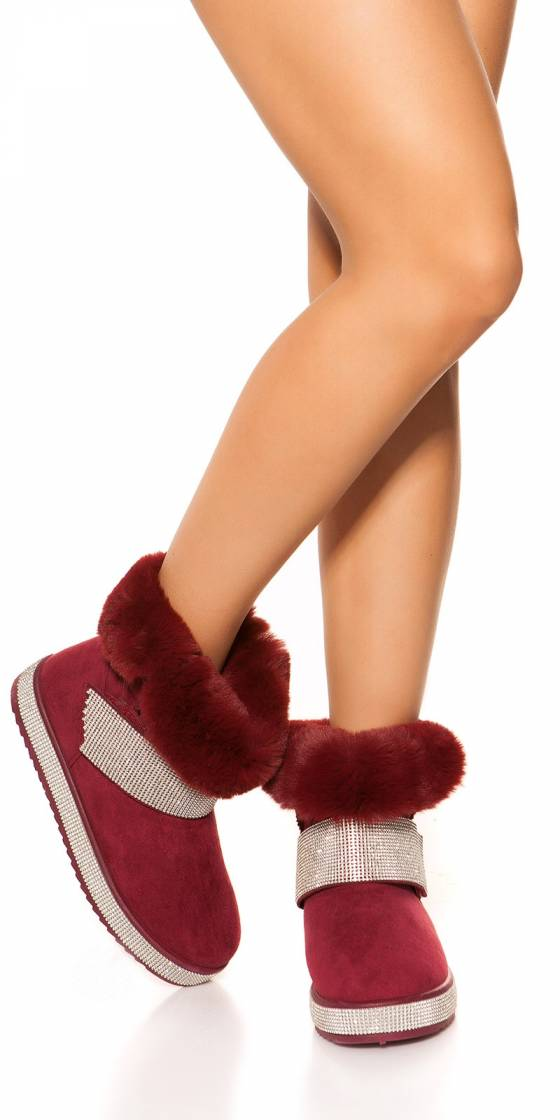 Trendy winter ankle boots...