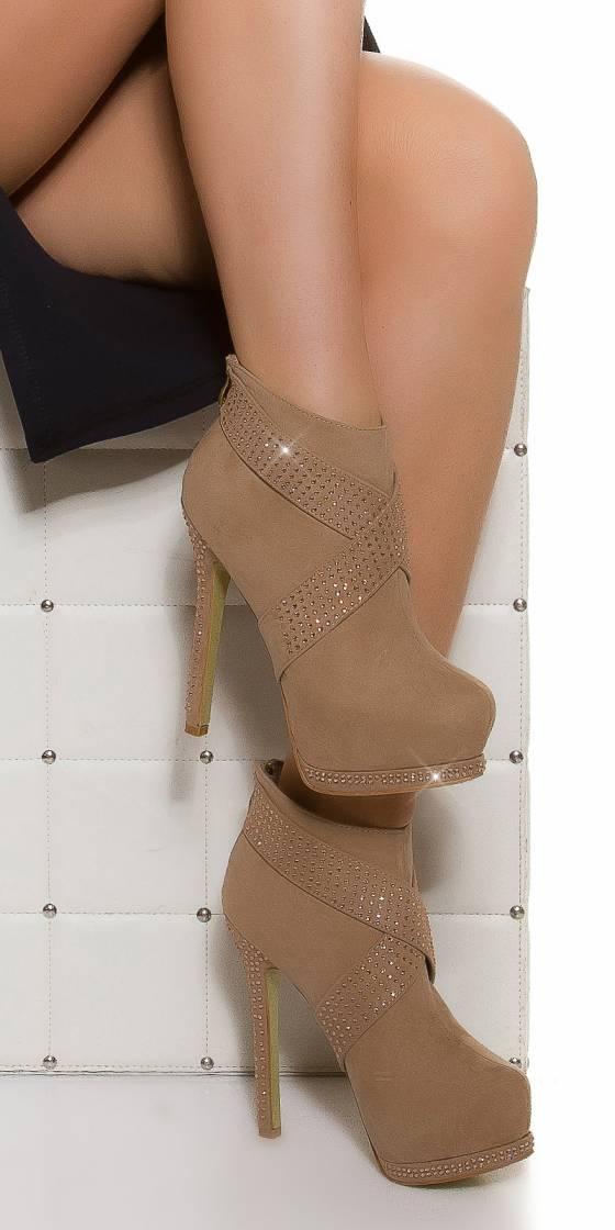 Sexy plateau high heel w....