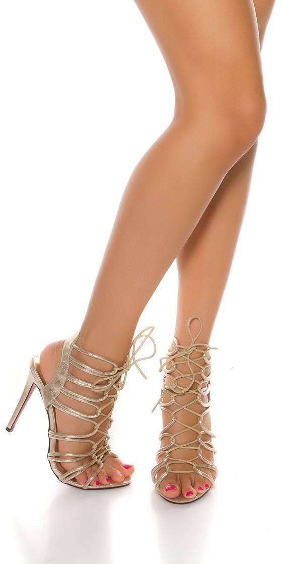 Sandales sexy à talons hauts