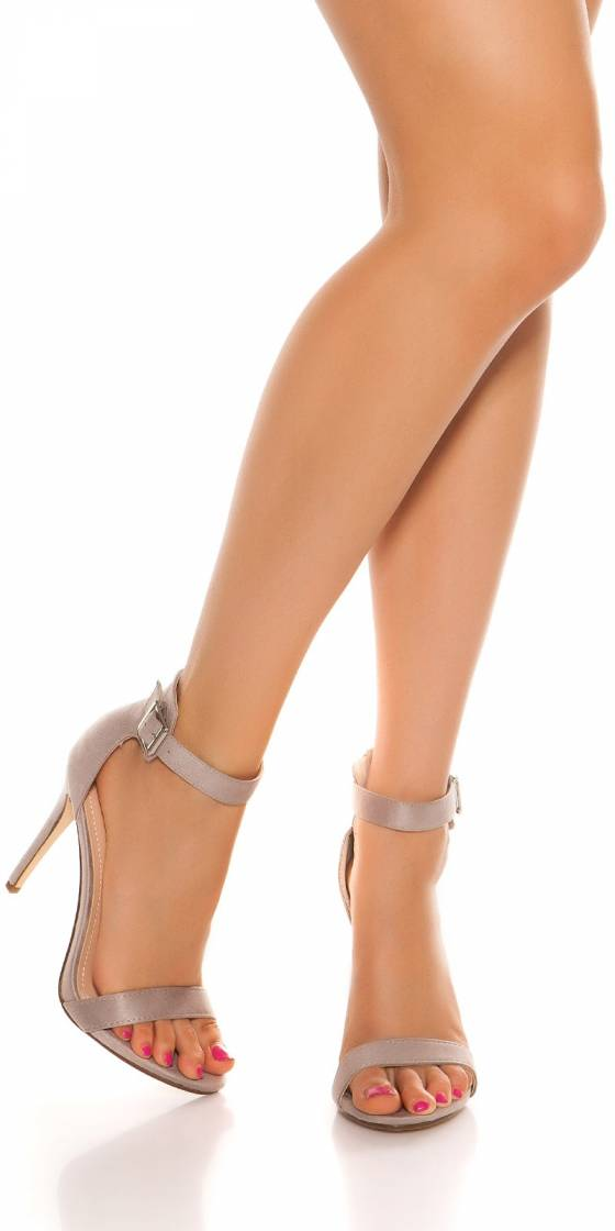 Sexy high heel sandals with...