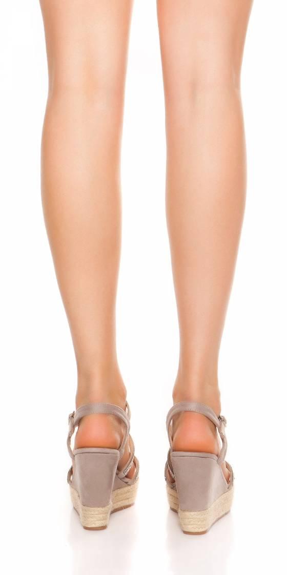 Sexy wedge heel sandals...