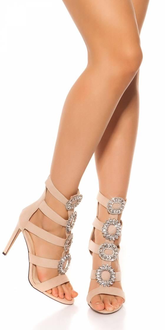 Sandales sexy avec fleurs...
