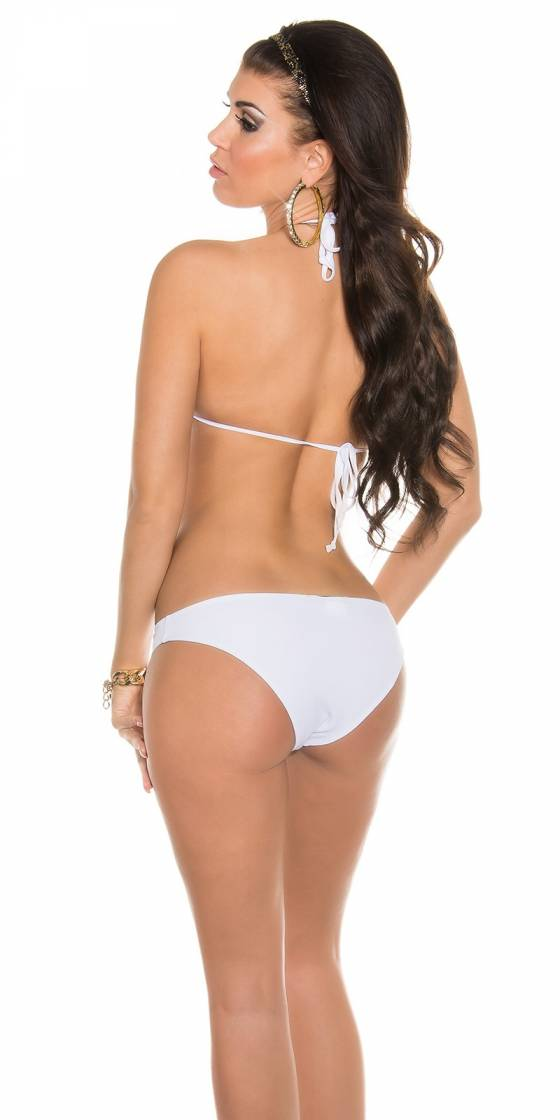 Bikini triangle sexy à nouer