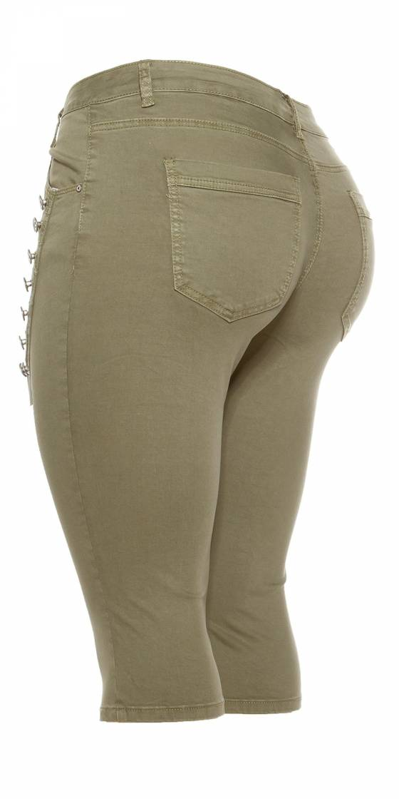 Pantacourt en jeans tendance