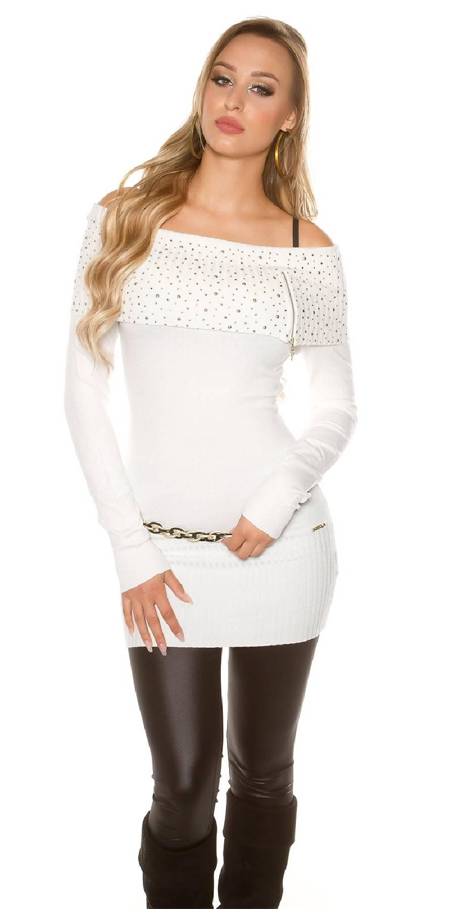 Blazer fashion SELENA couleur blanc