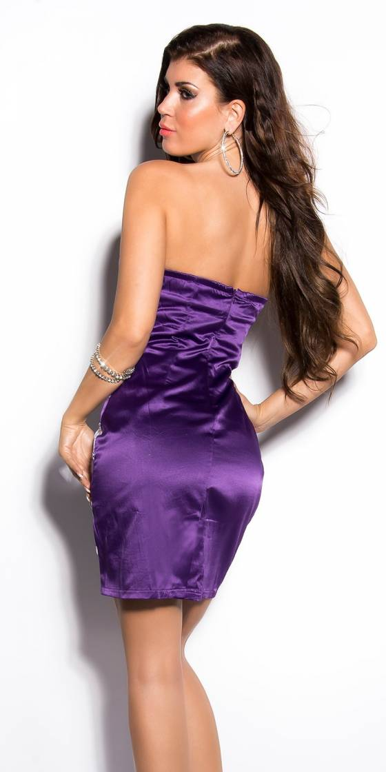 Sexy Bandeau Cocktail-Dress...