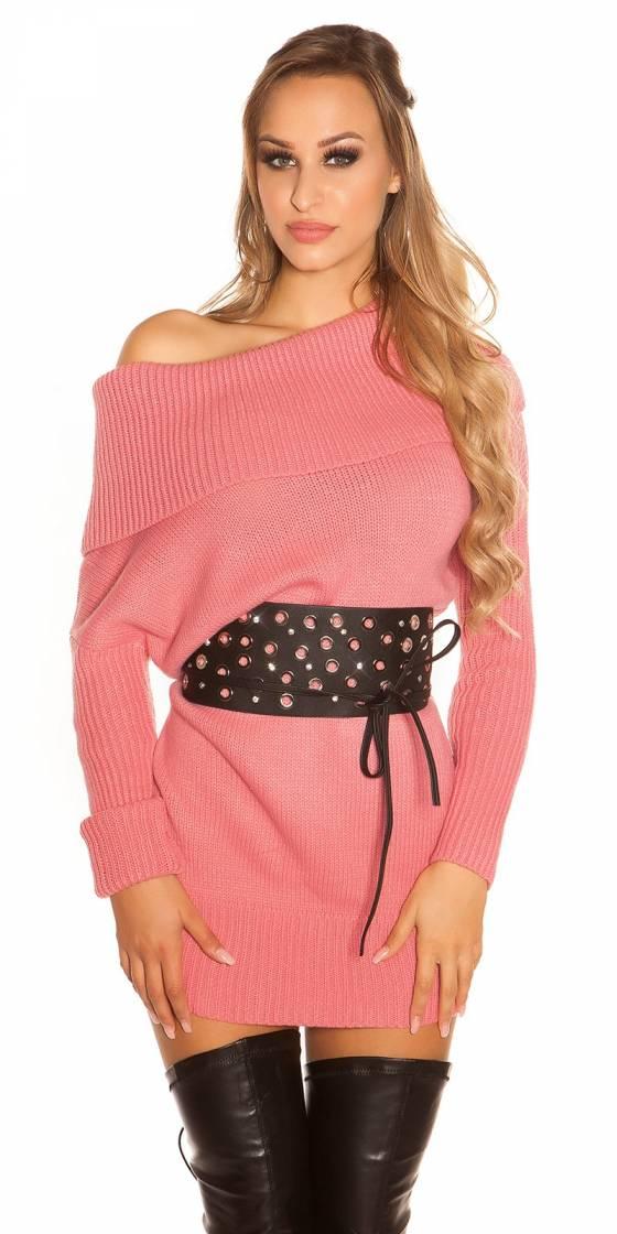 Pull tendance en tricot KouCla