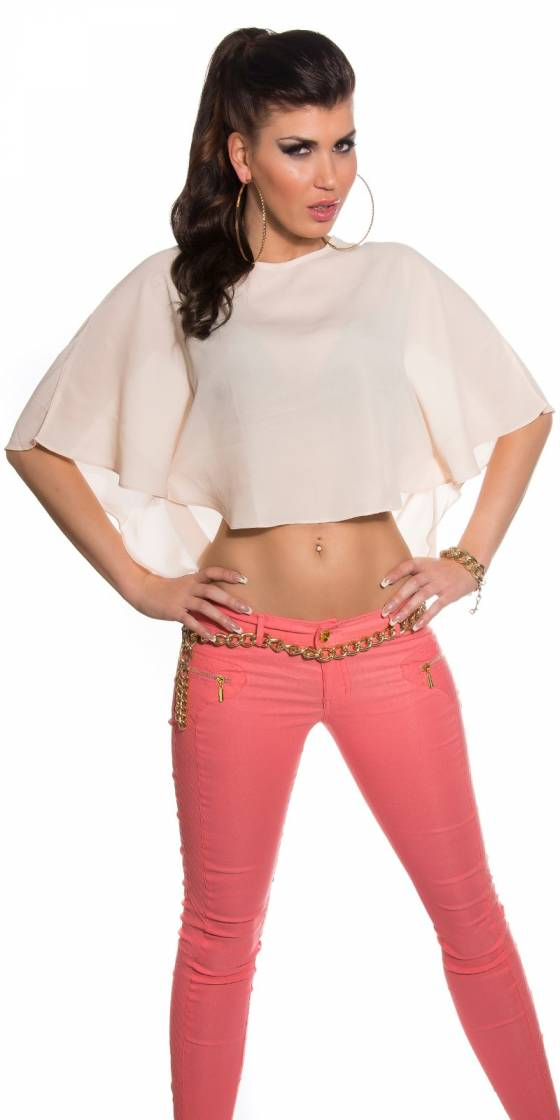 Crop top manches longues...