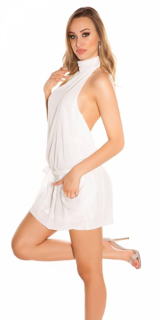 Veste sportswear à capuche CHRISTIE couleur blanc