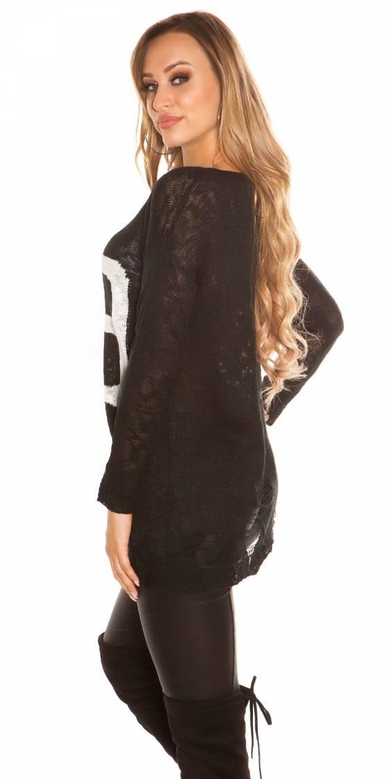 Trendy oversized sweater...