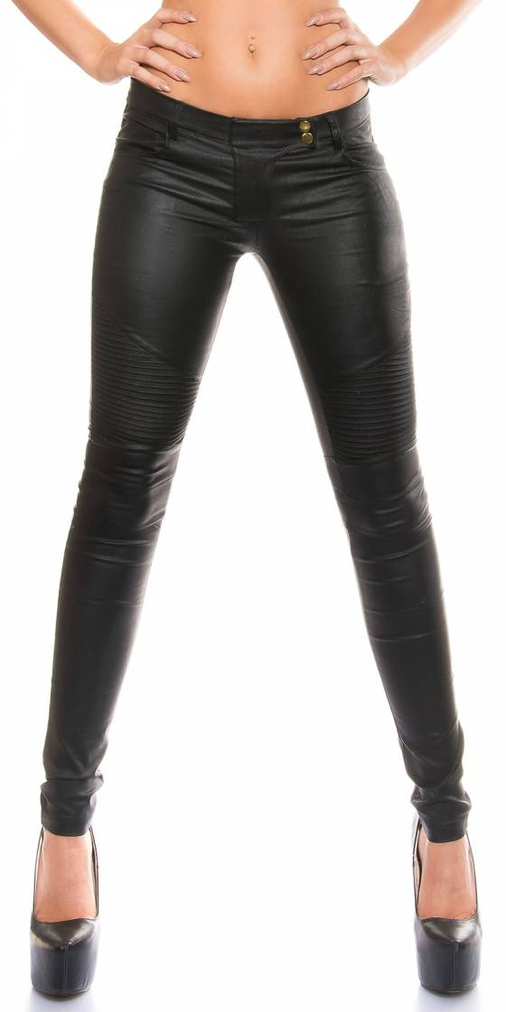 Pantalon en similicuir sexy