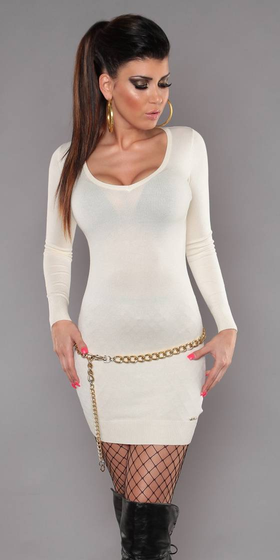 Sexy KouCla knit-minidress...
