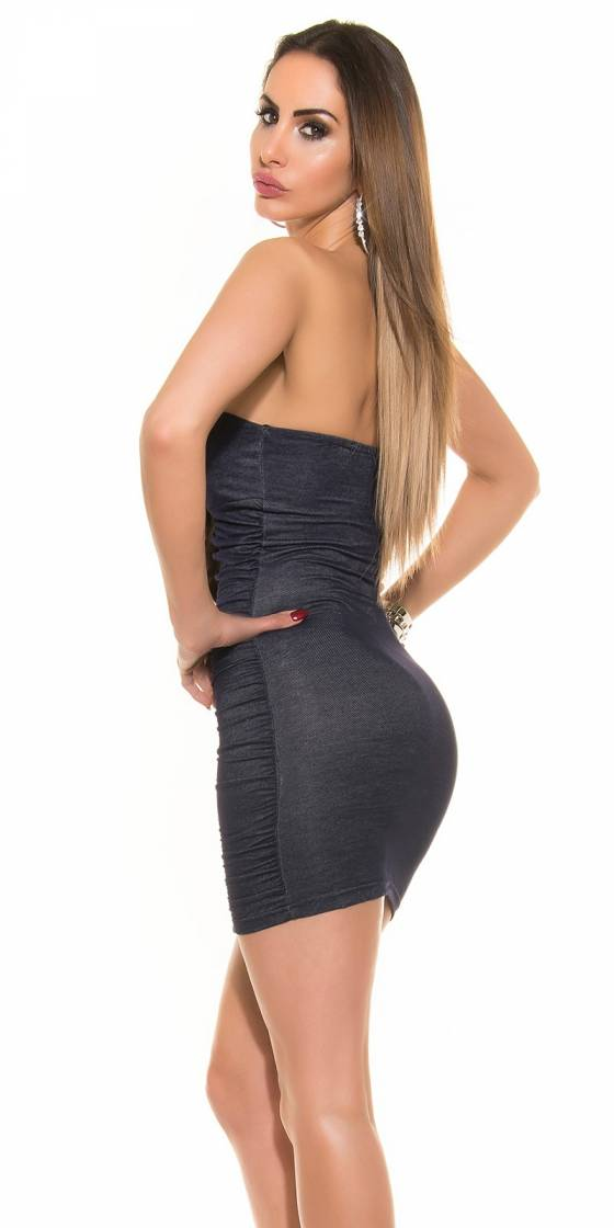 Sexy Bandeau Minidress in...