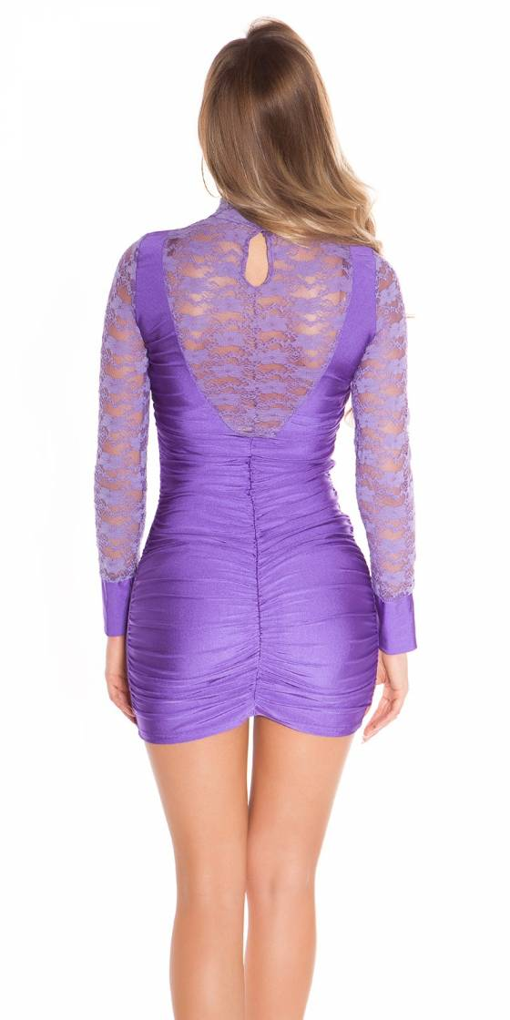 Sexy Minidress with lace,...