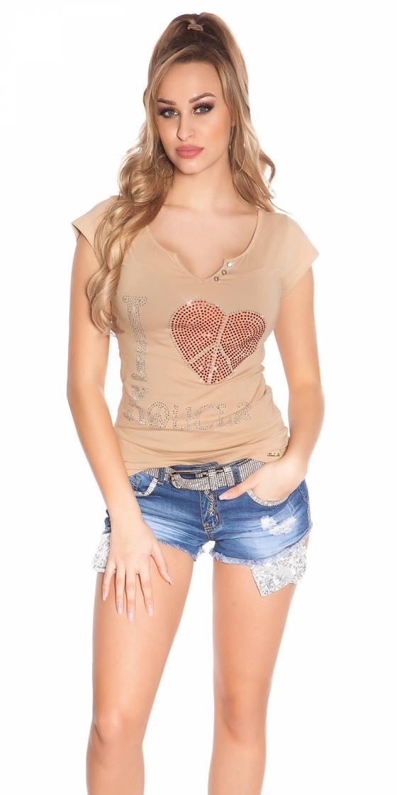 T-shirt sexy 'I Love...