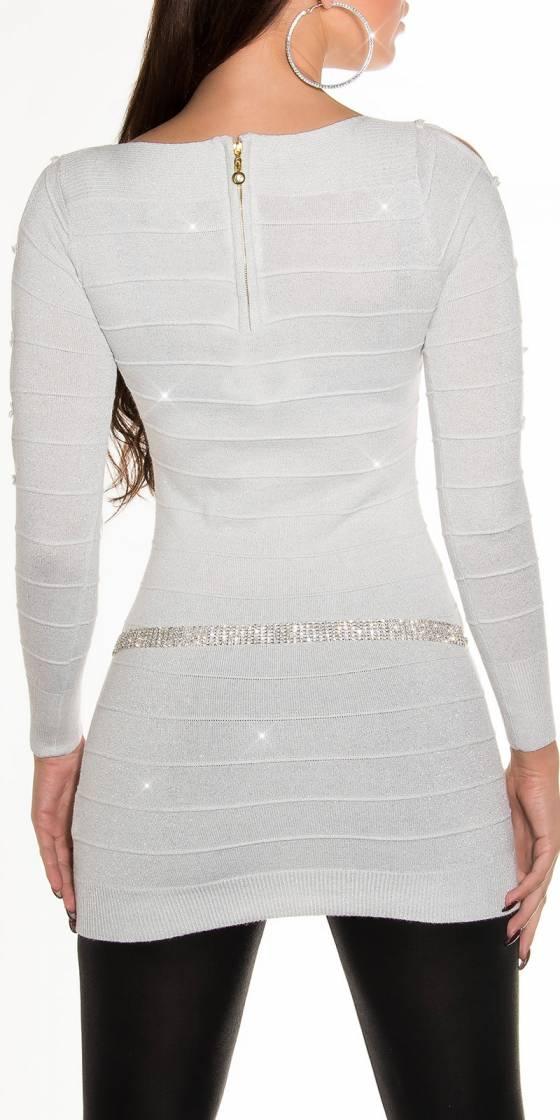 Mini robe sexy en tricot...
